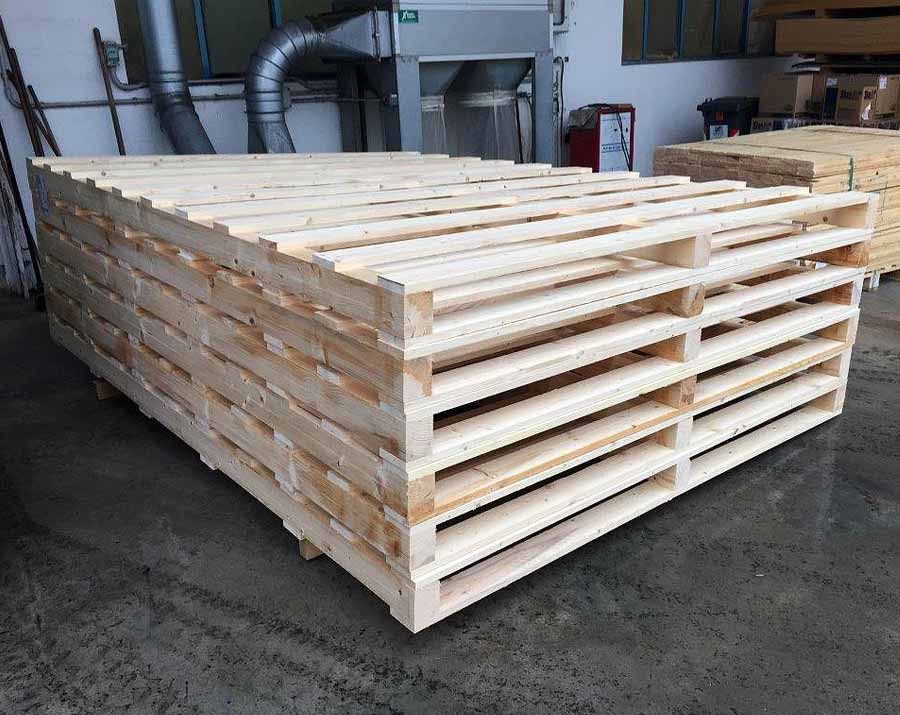 Customized dimensions pallets