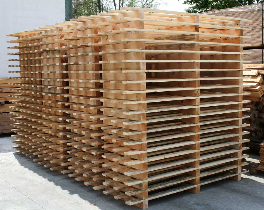 Particular pallets on request