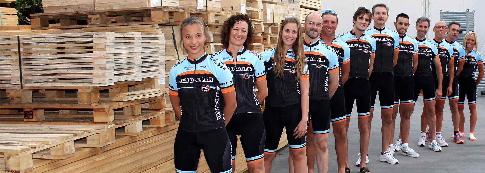 Uniforms for cycling for the sixtieth anniversary Dal Fior
